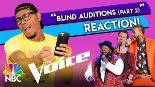 The Voice S15 Blind Auditions | Patrique Fortson, Michael Lee, Tyshawn Colquitt (Part 2)