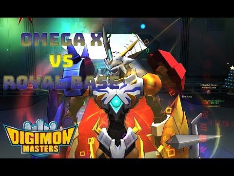OmegaX vs Royal Base ||GDMO||DMO||LUCEMON||