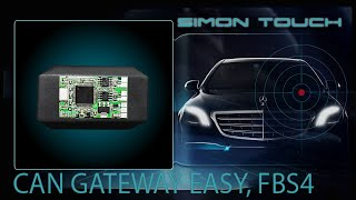 How To Install Mercedes S Class 222 FBS4 Can Gateway Easy