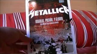Metallica: Orgullo, Pasión y Gloria UNBOXING