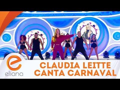 Claudia Leitte canta a música Carnaval | Programa Eliana (17/06/18)