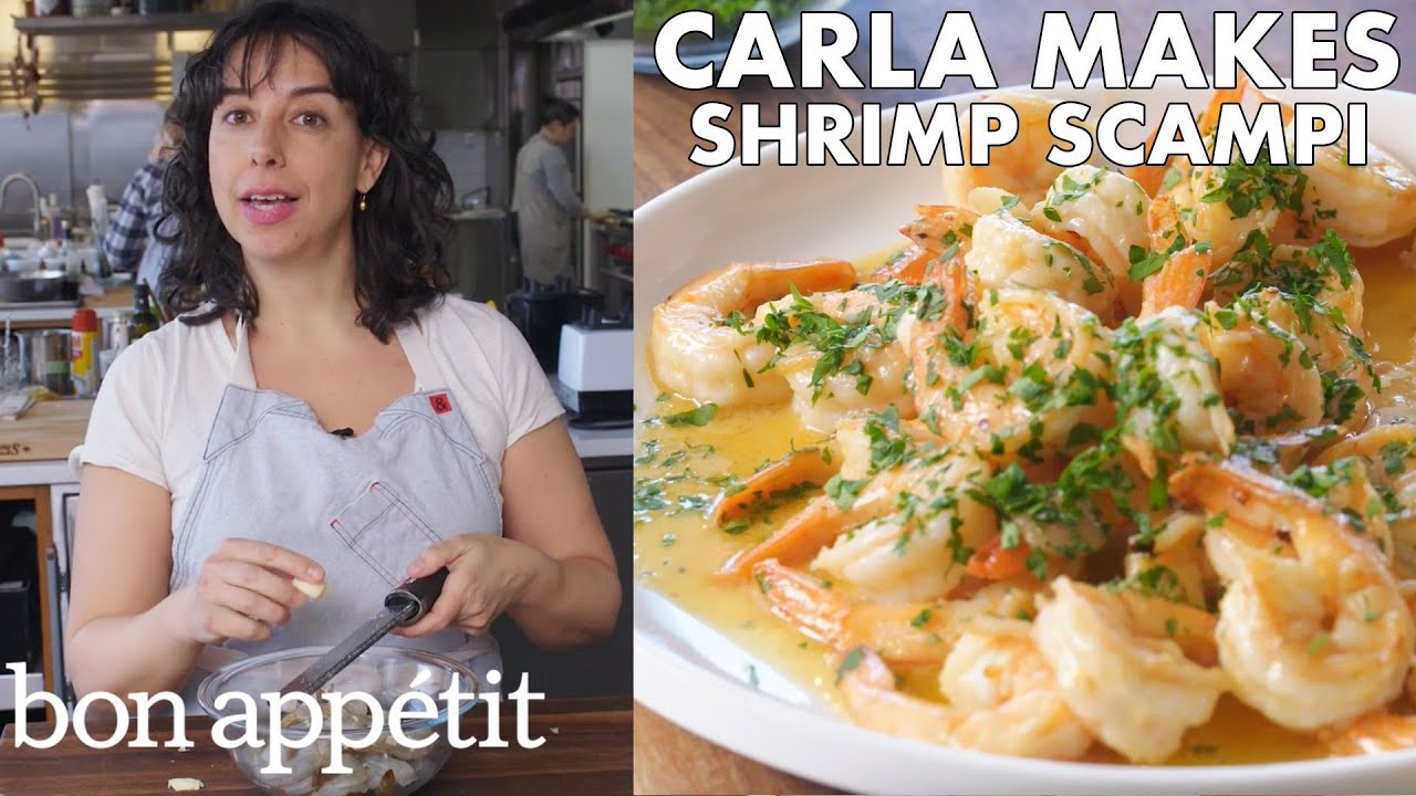 Carla Makes BA's Best Shrimp Scampi | From the Test Kitchen | Bon Appétit