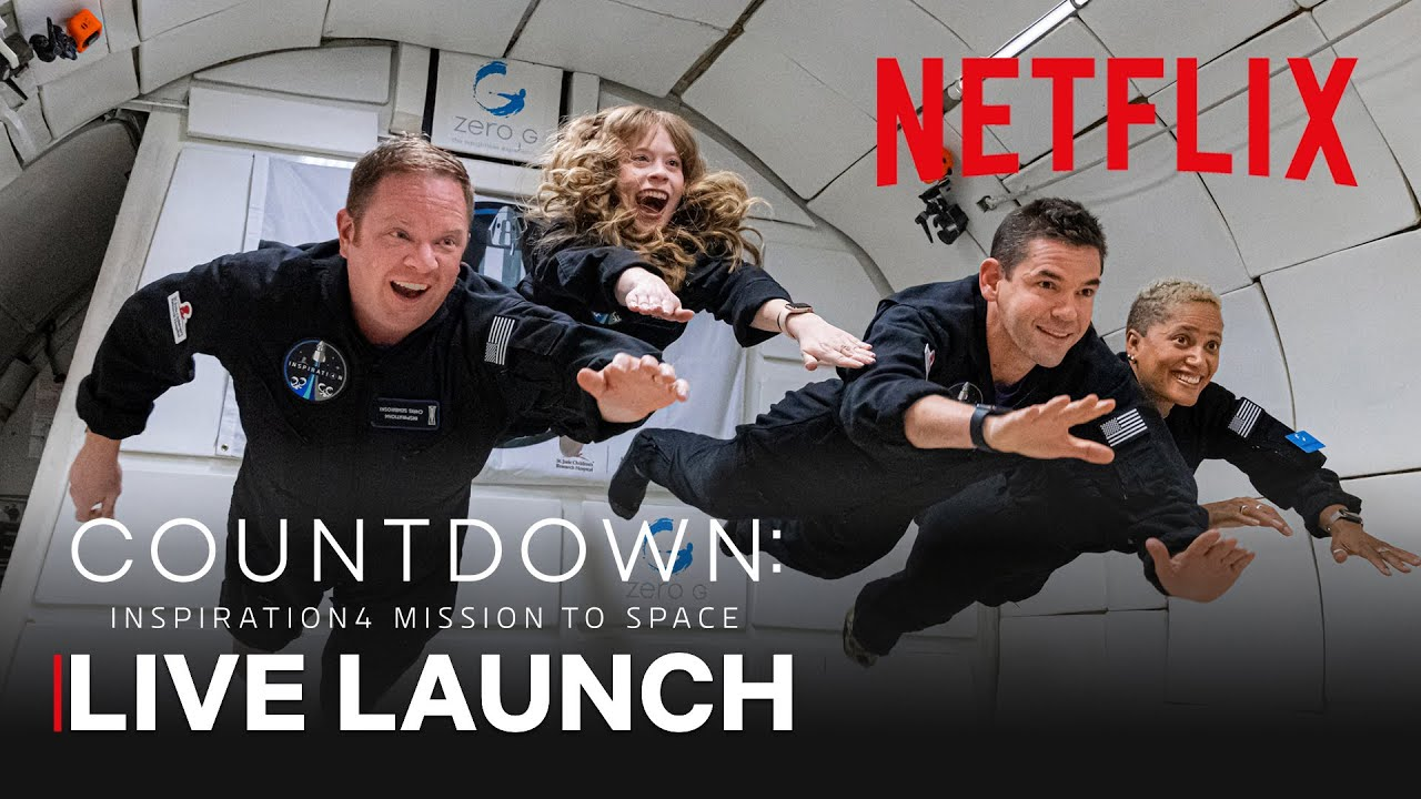 Download Countdown: Inspiration4 Mission to Space Live Launch | Netflix