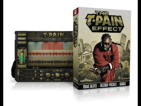 Auto-tune presets: t-pain, kanye west, lil wayne with examples.