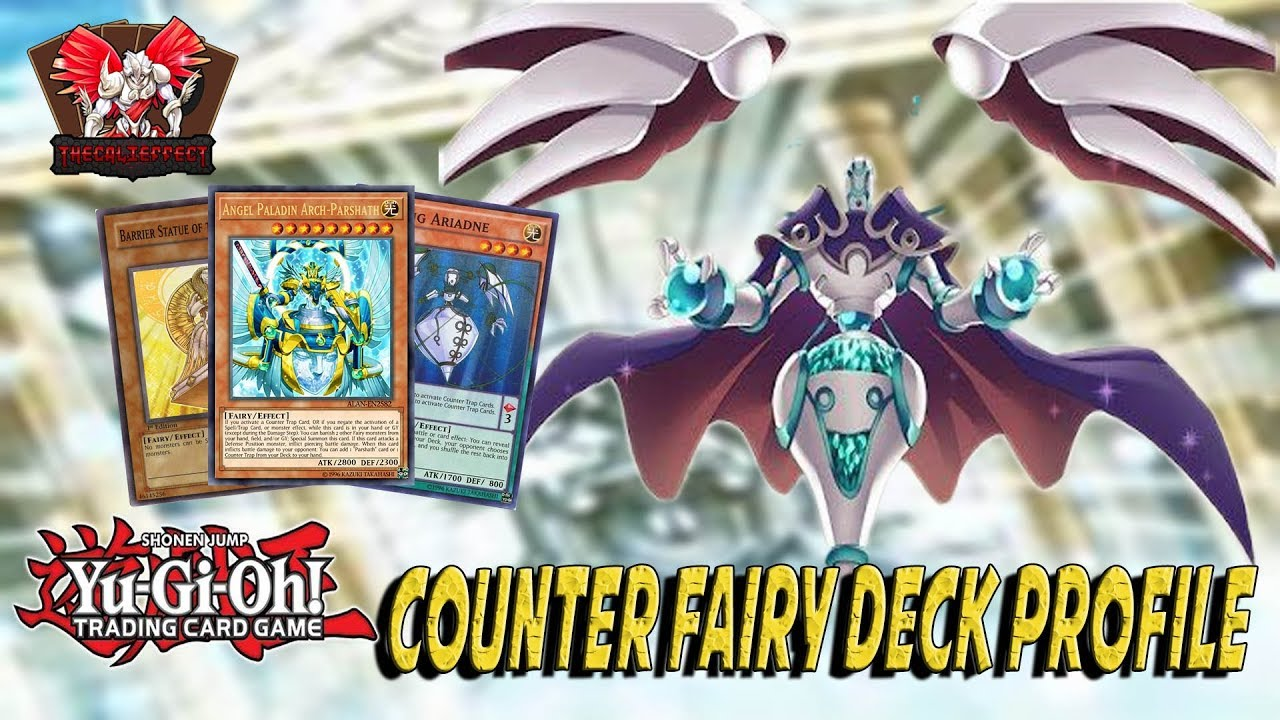 YUGIOH WAVE OF LIGHT *COMPETITIVE* COUNTER FAIRY DECK PROFILE! |THE COUNTER  TO THE META?| (JAN 2018)