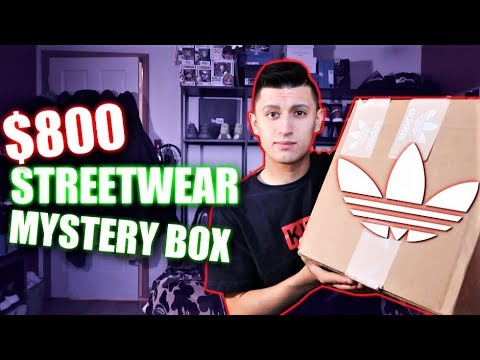 WHAT'S INSIDE an $800 Adidas MYSTERY BOX? (GIFT FROM ADIDAS!)