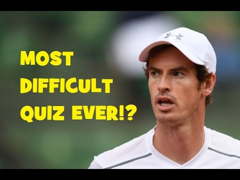 Andy Murray Quiz ONLY FOR EXPERTS! | Paris Bercy 2016 Final