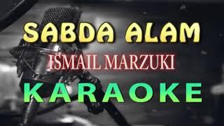 Sabda Alam - Ismail Marzuki (KARAOKE HD) non vocal