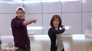 Lindsey Stirling #CokeREDMoves Challenge on D-Trix Presents Dance Showdown 3