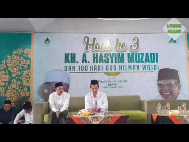 Gus Baha terbaru (15 Maret 2020) Haul ke 3 KH. Hasyim Muzadi | Ngaji Tauhid