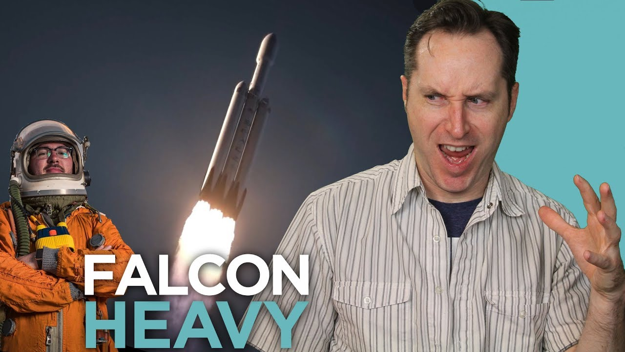 The SpaceX Falcon Heavy Is Ready To Launch (Ft. The ...