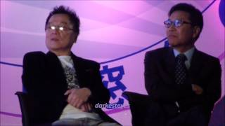 [Fancam] 121020 Lee Sooman watches EXO-K