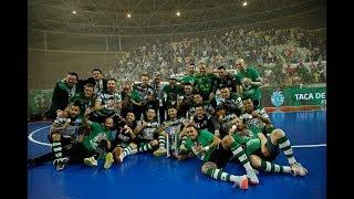 Taça de Portugal futsal: Sporting CP 8-7 SL Benfica (5-5 no tempo regulamentar)