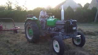 Zapętlaj grabienie siana w sadzie ursus 4011 | Hirek kowalski