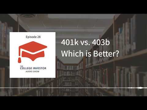 What's The Difference Between A 401k and 403b