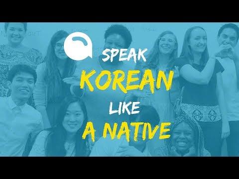 Speak Korean Like a Native! SAY's Korean Group Lessons