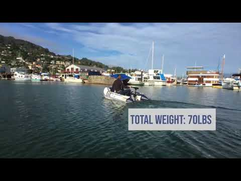 Newport Vessels 7ft 7in Carmel Inflatable Dinghy - YouTube
