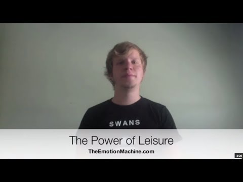 The Power of Leisure