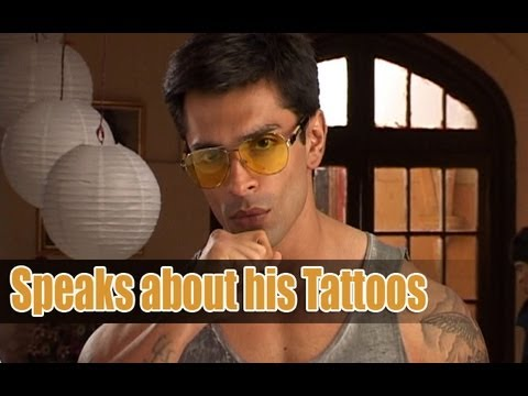 karan singh grover talks about his body tattoos youtube. Black Bedroom Furniture Sets. Home Design Ideas