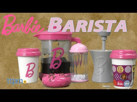 Barbie Barista Set from Just Play