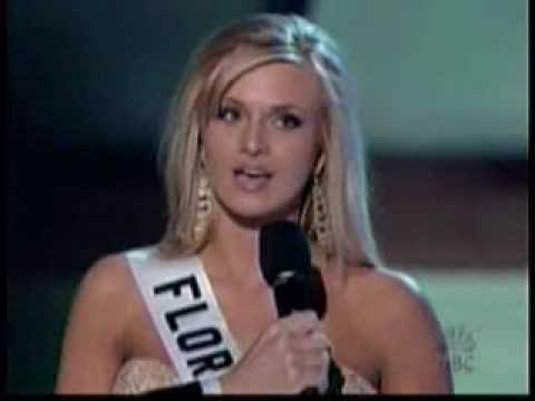 MISS USA 2006 - FINAL QUESTION/ TOP 5 CLOSE-UP