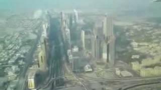 Burj Dubai Flyby