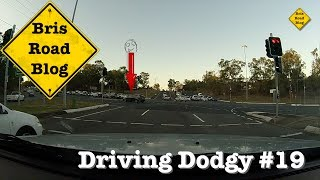 Driving Dodgy #19 - Dash Cam Brisbane Australia - June 2017
