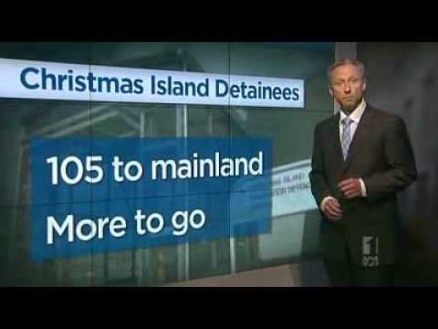 AFP take control of Christmas Island centre