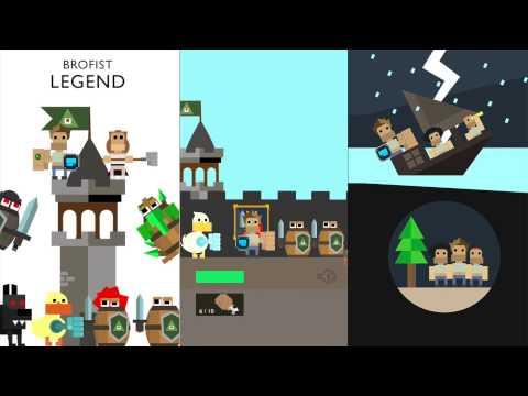 Brofist Legend Gameplay