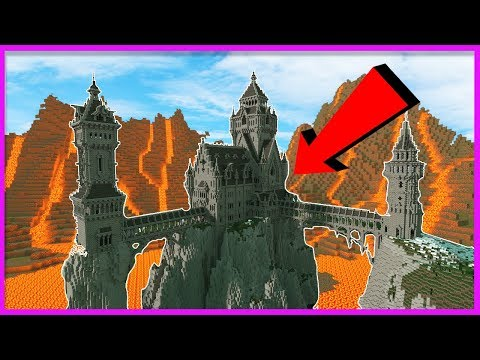 THE KING DRAGON VS THE MOST SECURE CASTLE IN MINECRAFT!