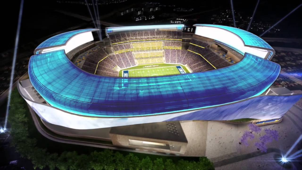 New Chargers Nfl Stadium Promo Reel Youtube