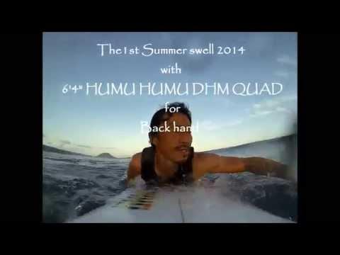 Hawaii 1st summer swell 2014
