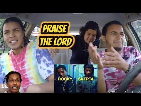 A$AP Rocky - Praise The Lord (Da Shine) ft. Skepta (REACTION REVIEW)