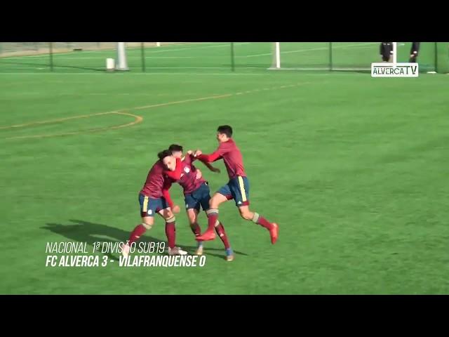 FC Alverca S19 3 - Vilafranquense S19 0 Highlights