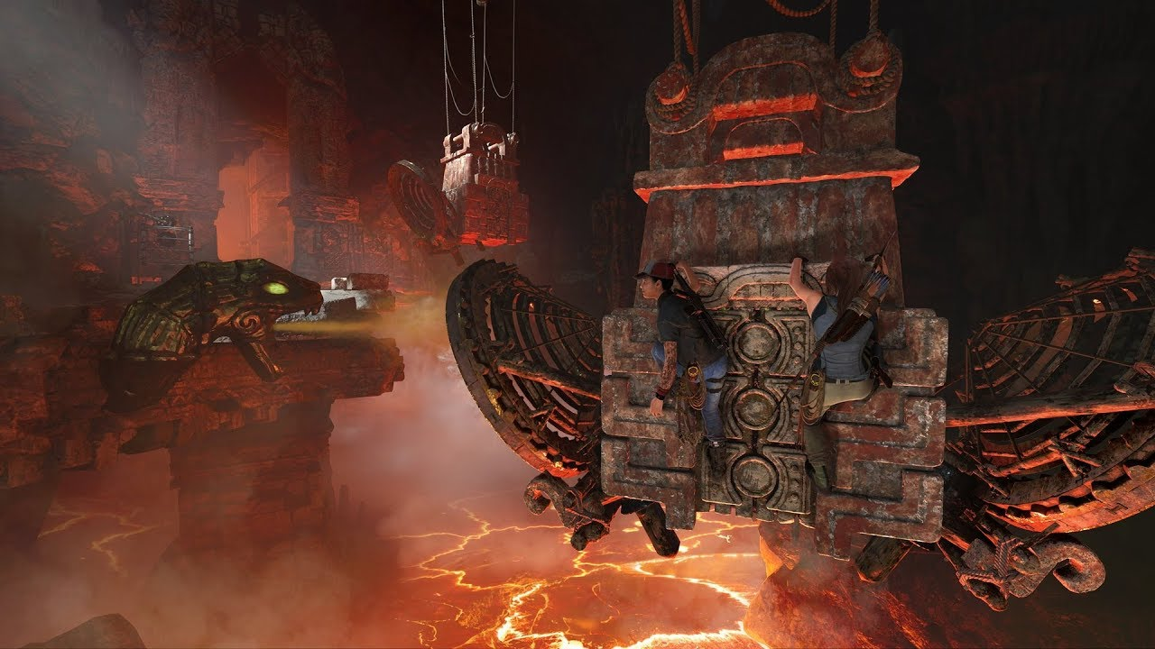 How Co-Op Challenge Tombs Work in Shadow of the Tomb Raider - Attack
