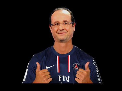 François Hollande chante AFRO TRAP Part 3 Champions League de MHD