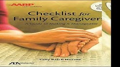 ABAAARP Checklist for Family Caregivers A Guide to Making it Manageable