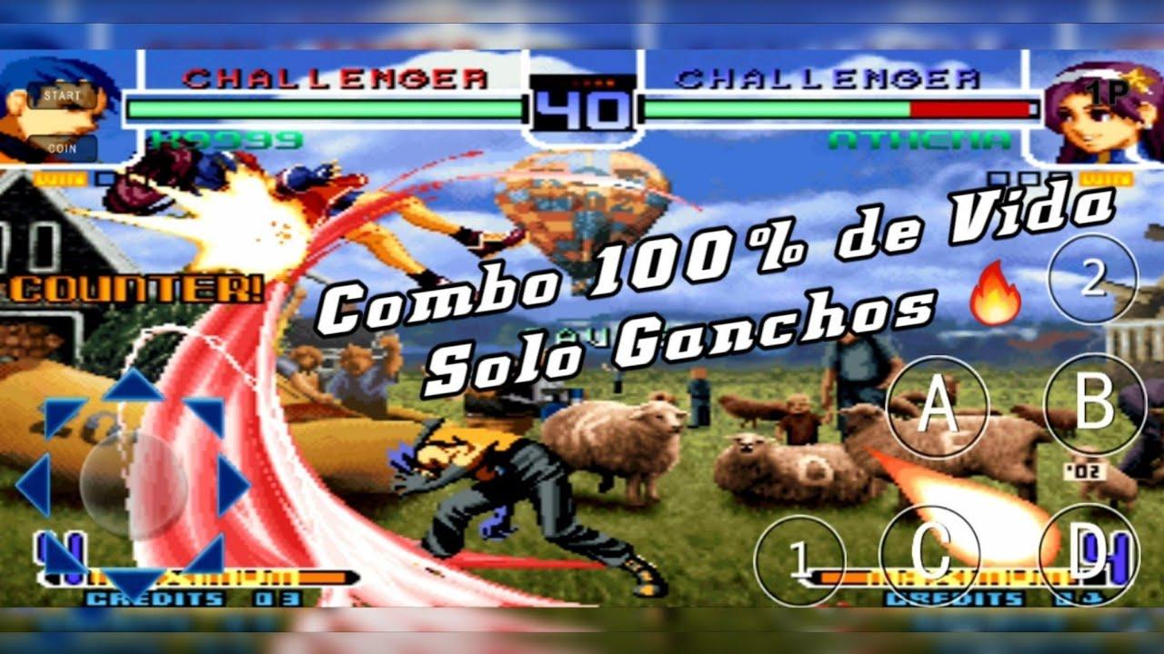 KOF2002   K9999 Combo 100% de Vida   Solo Ganchos ?
