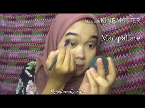Favorite look makeup tutorial   Siti Fitri Awaliyah