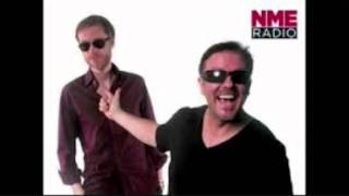 Ricky Gervais, Steve Merchant and Karl pilkington NME Radio show