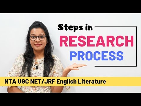 Steps In Research Process: Quickest & Easiest Explanation (UGC NET)