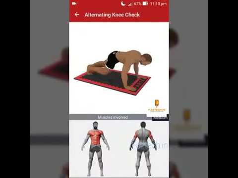 Best Gym App | Workout From Home For Sixpack ABS and Other Fitness