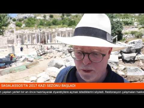 Sagalassos Antik Kenti 2017 arkeoloji kazıları başladı