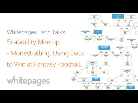 Scalability Meetup at Whitepages: Moneyballing: Using Data to Win At Fantasy Football