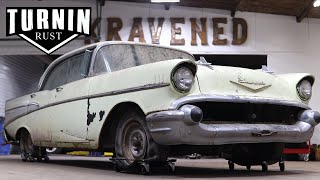 1957 Chevy Bel Air, Will It Run After 35 Years?! | Turnin Rust