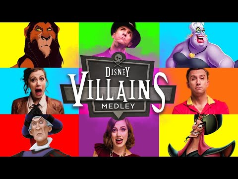 Epic Disney Villains Medley - Peter Hollens feat. Whitney Avalon Mp3