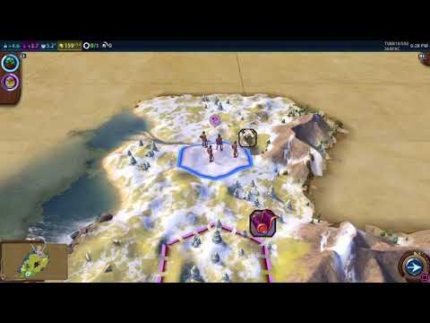 Sid Meier's Civilization VI PERSIA lets play ep1 |