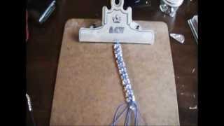 DIY 8 Strand Micro Macrame Bracelet Update