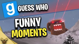 Gmod Guess Who Funny Moments | GIANT LASER SHOOTING DOMO! (Garry's Mod)