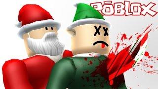 Roblox - Murder Mystery 2 - KILLED BY EVIL SANTA